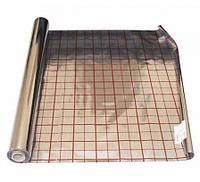 Пленка фольгированная с разметкой 50 м2 (100 мкр)