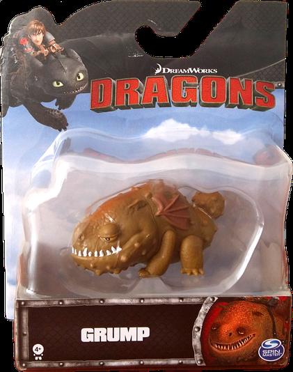 Как приручить дракона 2: коллекционная фигурка Громмель (6 см) SM66551-9 Spin Master