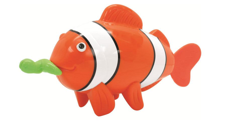 Игрушка для ванной «Рыбка-клоун с червячком» 65022 Navystar