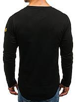 Лонгслив мужской Athletic черный, фото 3