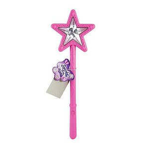 Волшебная палочка со световым и звуковым эффектом розового цвета FV75039-1