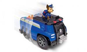 «Щенячий патруль»: спасательный автомобиль-трансформер с фигуркой Гонщика SM16603-1 Spin-Master