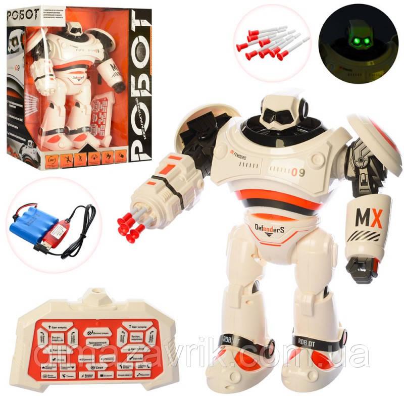 Робот M 3900 U/Rр/у, аккум, 33 см, муз, звук