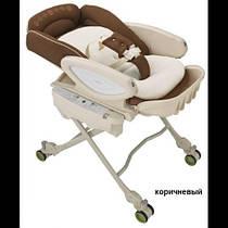 Колыбель-стульчик Aprica Auto Coco Chi-No Deluxe коричневый