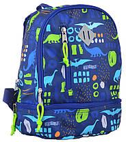 Дошкільний рюкзак YES Kids 22х27х12 см 7 л для хлопчиків K-21 Dinosaurs 555318