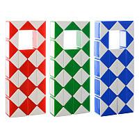 Головоломка гра змійка 8003-2, 3 кольори, в кульку, 13-5,5-2 см