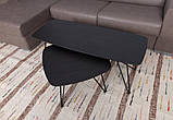 Стол журнальный LYON B (120*50*47) шпон венге Nicolas, фото 3