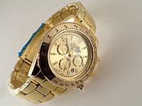 Мужские часы Rolex Daytona цвет циферблата золотистый