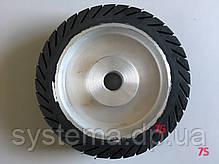 Шлифовальный барабан, д. 200х50,0х25,4 мм, для лент 50х628-632 мм, расширяющийся от вращения, резиновый, фото 2
