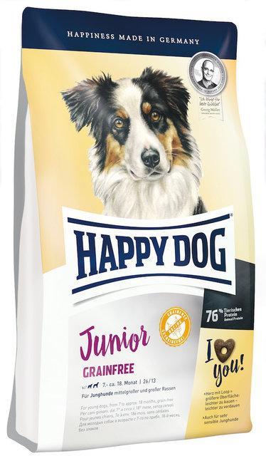 Happy Dog Junior Grainfree - беззерновой корм для щенков, 10 кг