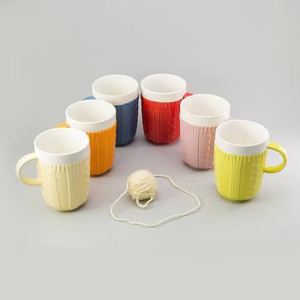 "Чашка ""Knitted"" EZ-2305, фото 2"
