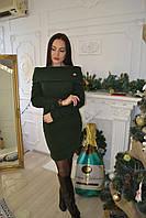 Платье трикотаж ангора длинный рукав, фото 1