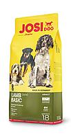 Корм для собак Josera JosiDog Lamb Basic Йозера ЙозиДог Лемб Базик с ягненком 18 кг