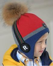 Оригинальная зимняя шапка для мальчиков.Dan&Dani (Daniil&Daniela)