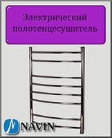 Электрический полотенцесушитель Navin Блюз 480х800 правый нержавеющая сталь