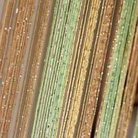 Шторы нити дождь радуга №13-14-15 (шампань,бежевый,салатовый)