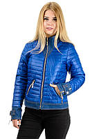"""Демисезонная куртка """"Джина"""", арт.№177, р-ры 42-48 электрик"""