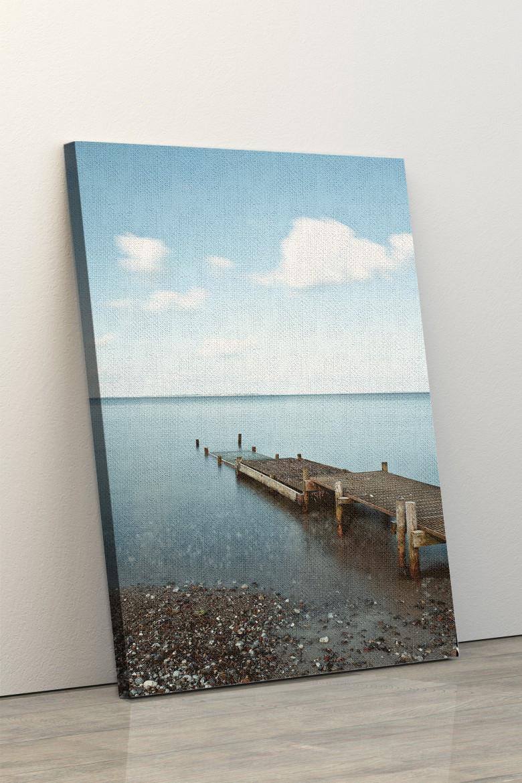 Фотокартина на полотні у вітальню, спальню, офіс, картина без рами, натягнута на підрамник 60x90 см