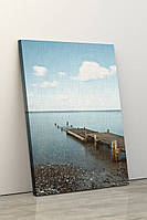 Фотокартина на полотні у вітальню, спальню, офіс, картина без рами, натягнута на підрамник 60x90 см, фото 1