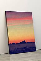 Фотокартина на полотні у вітальню, спальню, офіс, картина без рами, натягнута на підрамник 80х120