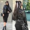Женская стеганная куртка-косуха в расцветках. МА-3-0918, фото 3