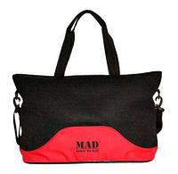 Женская спортивная сумка MAD LATTICE SLA8001 черный 23 л