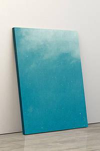 Фотокартина на полотні у вітальню, спальню, офіс, картина без рами, натягнута на підрамник 60x90