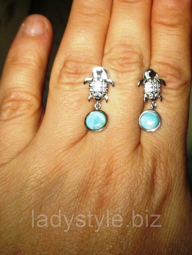 купити срібне кільце перстень прикраси пренит кольє