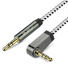 Угловой кабель Raxfly AUX 3.5mm, фото 2