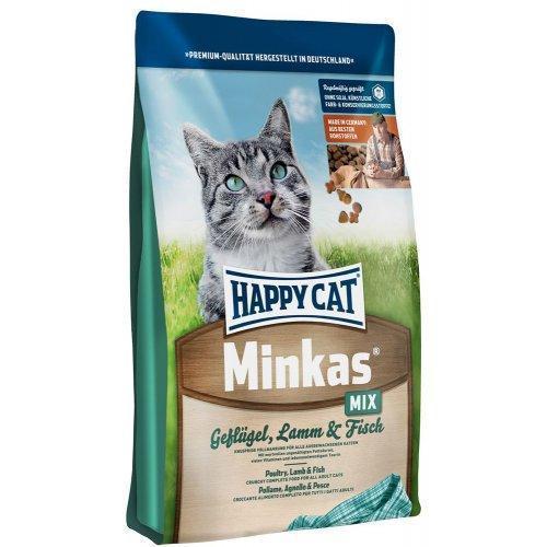 Happy Cat Minkas Mix - сухой корм для кошек, 10 кг