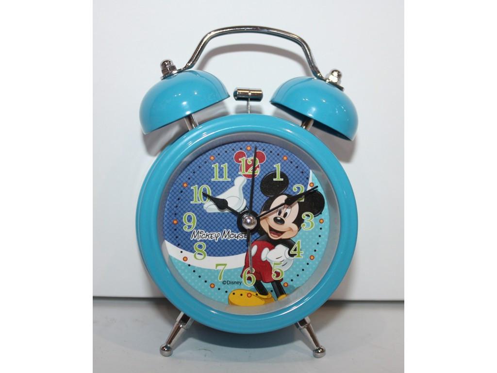Будильник  металлический Микки Маус 5044-7