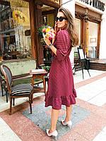 Женское трикотажное платье в расцветках , фото 1