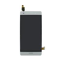 Дисплей для Huawei P8 Lite (ALE-L21) с тачскрином белый Оригинал