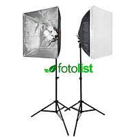 Набор постоянного диодного света Falcon LH-ESB6060K LED, 8х12w, 1120 Вт, 5500К