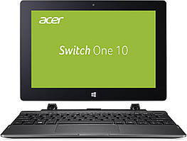Планшет Acer Aspire Switch One 10 , 10.1, Intel Atom x5-Z8350 (1.44GHz), 4GB, 64GB, Gray