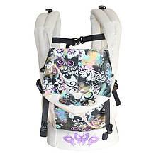 Ерго рюкзак Sunny Метелики (льон з бавовною)