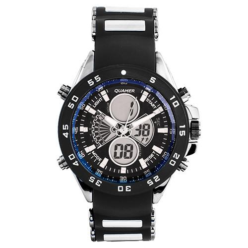 Наручний годинник Quamer 1103 ремінець, електронні годинники наручні
