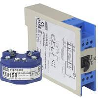 Цифровой преобразователь температуры, программируемый через ПК, монтаж в соединительную головку или на рейку T12.10, T12.30  T12.10 T12.30