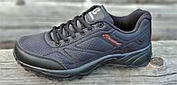 Кроссовки мужские демисезонные черные (код 2564) - чоловічі кросівки демисезонні чорні, фото 1