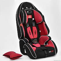 Автокресло универсальное G 1699 (2) Цвет чёрно-красный 9-36 кг Joy