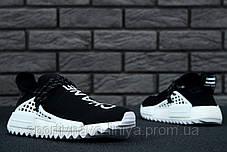 Кроссовки мужские черные Adidas x Pharrell Williams Human Race NMD (реплика), фото 2