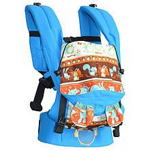 Ерго рюкзак Sunny Звірята (льон з бавовною)