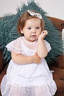 Фатиновое платье бодик - обзор на ребенке