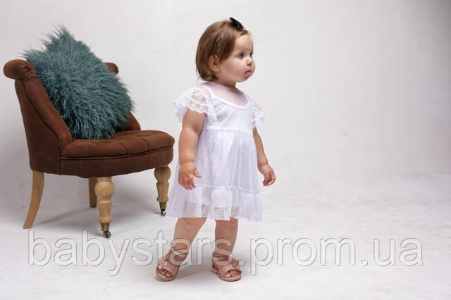 Бодик платье из фатина для маленьких девочек