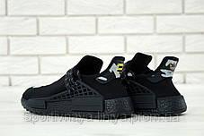 Кроссовки мужские черные Adidas x Pharrell Williams Human Race NMD (реплика), фото 3