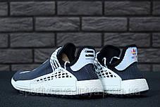 Кроссовки мужские серые Adidas x Pharrell Williams Human Race NMD (реплика), фото 3