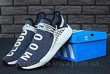 Кроссовки мужские серые Adidas x Pharrell Williams Human Race NMD (реплика), фото 2