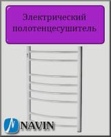 Электрический полотенцесушитель Navin Блюз 480х800 правый с терморегулятором сталь