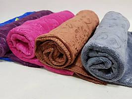 Полотенце микрофибра для лица. В упаковке 6шт разного цвета.