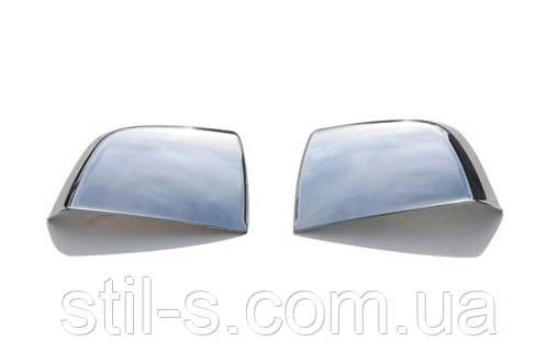 Накладки на зеркала Fiat Doblo 2010>